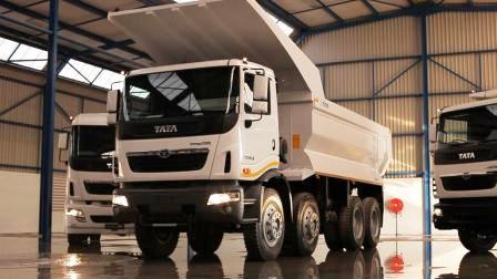 Prima 3338K – 8×4 Tipper – Tata Truck & Bus Bloemfontein